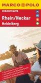 MARCO POLO Freizeitkarte Rhein, Neckar, Heidelberg