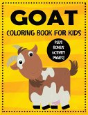 Goat Coloring Book for Kids plus Bonus Activity Pages