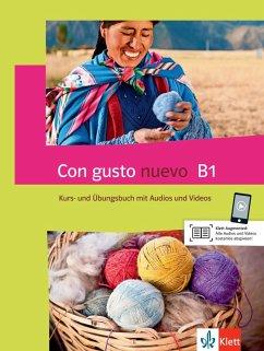Con gusto nuevo B1. Kurs- und Übungsbuch + MP3-CD + DVD