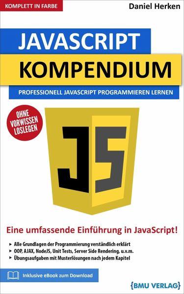 JavaScript Kompendium von Daniel Herken