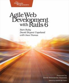 Agile Web Development with Rails 6 (eBook, ePUB) - Ruby, Sam