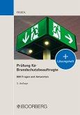 Prüfung für Brandschutzbeauftragte (eBook, PDF)