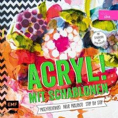 Acryl! mit Schablonen (Mängelexemplar) - Rüdel, Iris