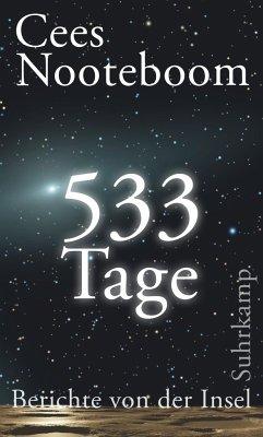 533 Tage. Berichte von der Insel (Mängelexemplar) - Nooteboom, Cees