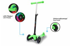 Jamara KickLight Scooter grün