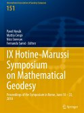 IX Hotine-Marussi Symposium on Mathematical Geodesy