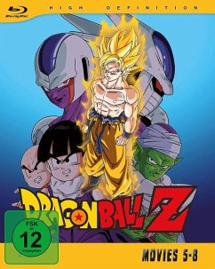 Dragonball Z - Movies - Vol.2 BLU-RAY Box