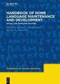 Handbook of Home Language Maintenance and Development (eBook, ePUB)