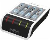 Ansmann Comfort Smart Ladegerät inkl. 4 AA Mignon Akkus 2100mAh