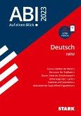 STARK Abi - auf einen Blick! Deutsch NRW 2022