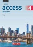 English G Access G9 Band 4: 8. Schuljahr - Workbook mit Audios online