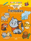 Ausmalbuch - Tierbabys