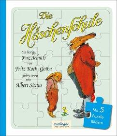 Die Häschenschule - Puzzlebuch (Mängelexemplar) - Koch-Gotha, Fritz; Sixtus, Albert