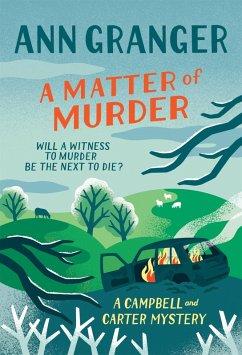 A Matter of Murder (eBook, ePUB) - Granger, Ann