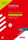 STARK Lösungen zu Training Abschlussprüfung Hauptschule 2021 - Deutsch 9./10. Klasse - Niedersachsen