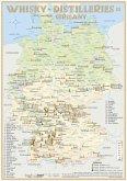 Whisky Distilleries Germany-Austria-Switzerland - Tasting Map