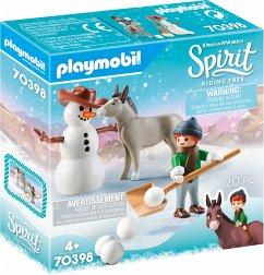 PLAYMOBIL® 70398 Schneespaß mit Snips & Herrn Karotte