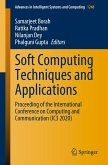 Soft Computing Techniques and Applications