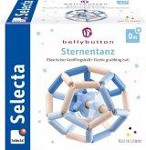 Selecta 64022 - bellybutton, Sternentanz, Greifling-Ball, Holz, blau, 11,5 cm