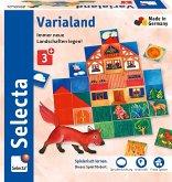 Selecta 63021 - Varialand, Legespiel, Holz, 80-teilig
