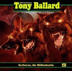 Tony Ballard - Zeberus, die Höllenbestie, 1 Audio-CD - Morland, A. F.