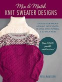 Mix and Match Knit Sweater Designs (eBook, ePUB)