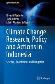 Climate Change Research, Policy and Actions in Indonesia