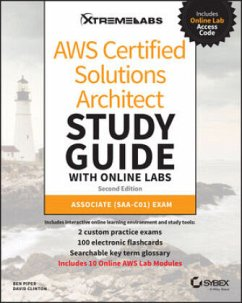 Aws Certified Solutions Architect Study Guide with Online Labs: Associate (Saa-C01) Exam - Piper, Ben;Clinton, David