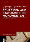 Schreiben auf statuarischen Monumenten (eBook, PDF)