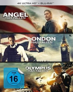 Olympus/London/Angel has fallen - Triple Film Collection