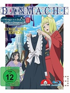 DanMachi - Is It Wrong to Try to Pick Up Girls in a Dungeon? - 2. Staffel - Vol. 3 Limited Collector's Edition