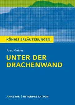 Unter der Drachenwand. Königs Erläuterungen. (eBook, PDF) - Geiger, Arno
