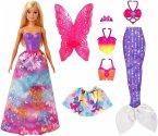 Barbie Dreamtopia 3-in1-Fantasie Spielset (blond)
