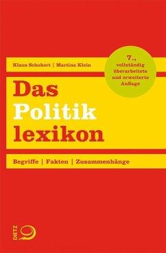 Das Politiklexikon (Mängelexemplar) - Schubert, Klaus; Klein, Martina