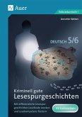 Kriminell gute Lesespurgeschichten Deutsch 5-6