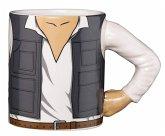 "Tasse ""Han Solo"" mit 3D Arm, Star Wars, 350 ml"