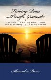 Finding Peace Through Gratitude: The Secret to Healing From Trauma and Discovering Joy in Every Moment (eBook, ePUB)