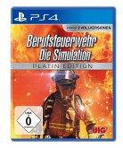Berufsfeuerwehr, Die Simulation, 1 PS4-Blu-ray-Disc (Platin Edition)