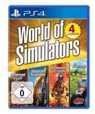 World of Simulators, 1 PS4-Blu-ray-Disc