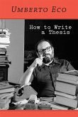 How to Write a Thesis (eBook, ePUB)
