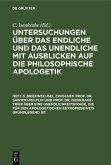 Briefwechsel zwischen Prof. Dr. Sawicki-Pelplin und Prof. Dr. Isenkrahe-Trier über eine Unendlichkeitsfrage, die für den apologetischen Entropiebeweis grundlegend ist (eBook, PDF)