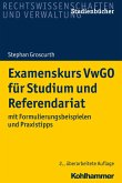 Examenskurs VwGO für Studium und Referendariat (eBook, ePUB)