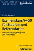 Examenskurs VwGO für Studium und Referendariat (eBook, PDF)