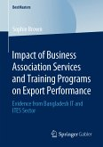 Impact of Business Association Services and Training Programs on Export Performance (eBook, PDF)
