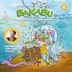 Bakabu und der Schatz der Piraten, 1 Audio-CD - Auhser, Ferdinand