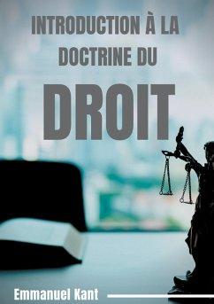 Introduction à la Doctrine du droit (eBook, ePUB)