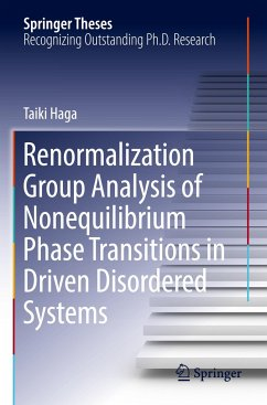 Renormalization Group Analysis of Nonequilibrium Phase Transitions in Driven Disordered Systems - Haga, Taiki