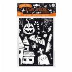 Mal Mich Bunt Ausmal-Tischdecke aus Papier, Motiv Halloween