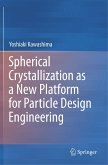 Spherical Crystallization as a New Platform for Particle Design Engineering