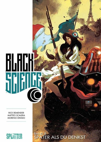 Buch-Reihe Black Science